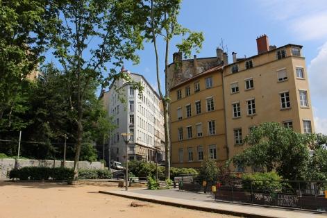 Place Colbert LES PENTES DE LA CROIX-ROUSSE LYON